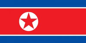 Nordkoreas flagga