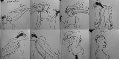 Blåsa hår