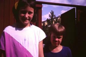Bror och syster clown