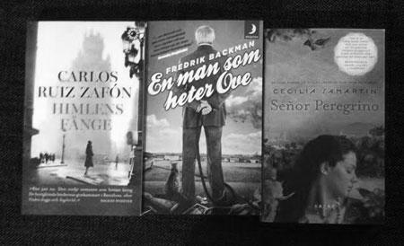Manliga författare - och en kvinnlig