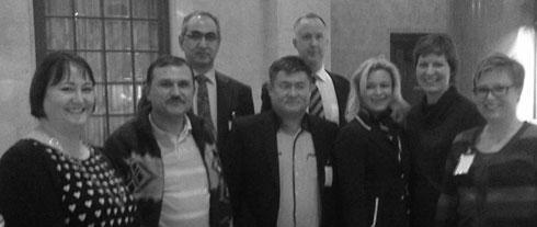 Besök från Uzbekistan i Riksdagen