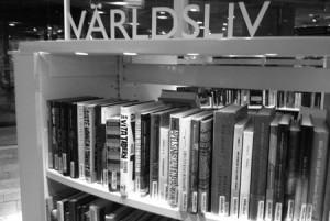 Världsliv på Kulturhusets bibliotek