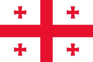 Georgiens flagga