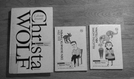 Tyska böcker från bibblan