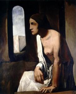 Solitude, Mario Sironi 1926
