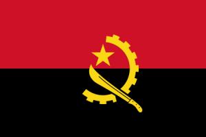 Angolas flagga