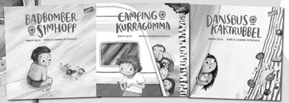 Barnböcker om romer