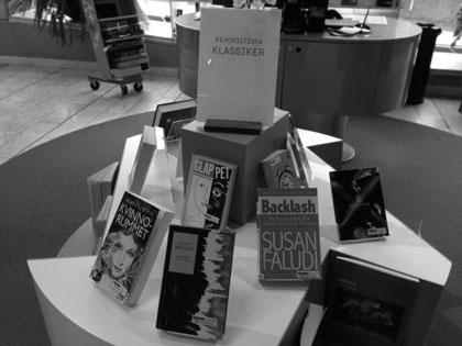 Feministiska klassiker Kulturhusets bibliotek