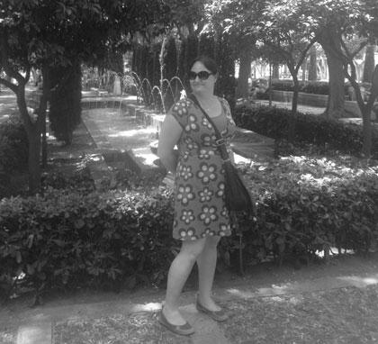Park utanför parlamentet i Palma