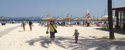 Strand i Alcudia