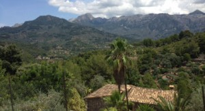Vy över Mallorca
