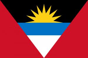 Antigua och Barbudas flagga