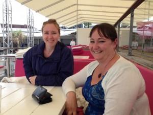 Jag och Sandra på Kallis i Visby