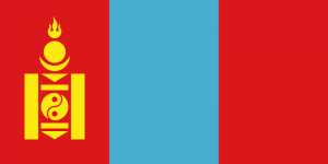 Mongoliets flagga