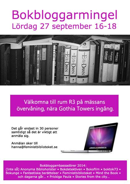 Inbjudan bloggmingel 2014