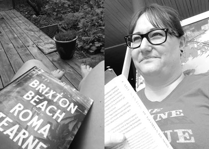 Hanna läser sommaren 2014