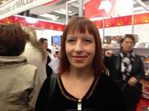 Den makedonska poeten Lidija Dimkovska