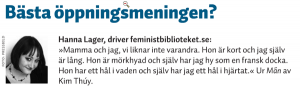 Svensk bokhandel 2014