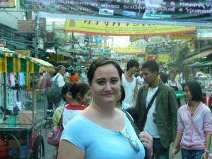 Kao San Road i Bangkok