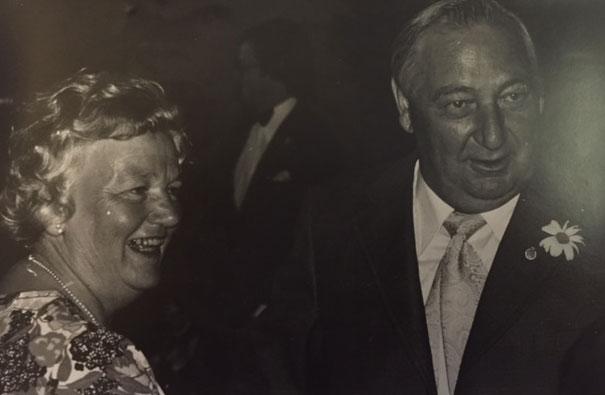 Mormor och morfar 1975