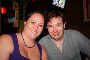 Andreas och jag i Kuala Lumpur 2010