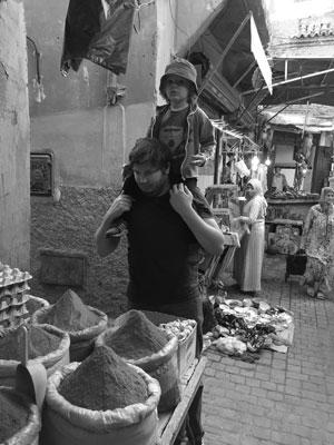 Medinan I Marrakech dag 2