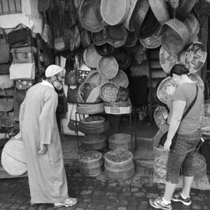 Prutning i Marrakech