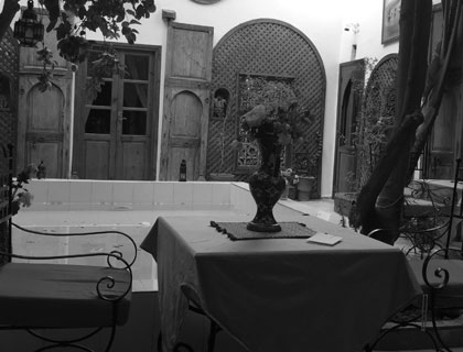 Riad i Marrakech
