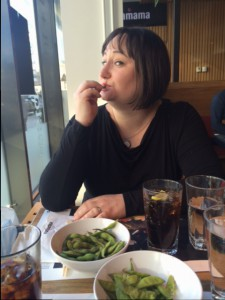 Hanna 38 år på Wagamama