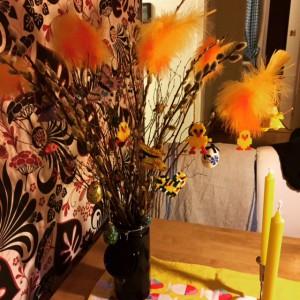 Påskris enlgt familjen Lager Ericson. Mars 2015.