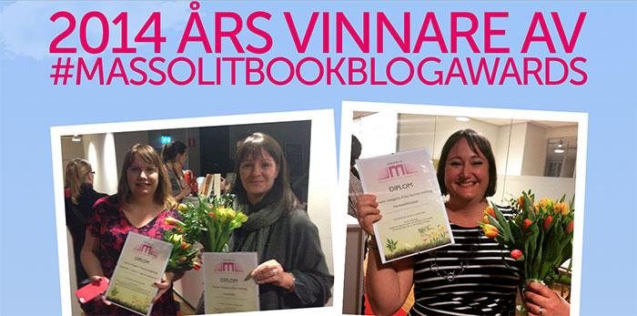 Vinnare av Massolit Book Blog Award 2015