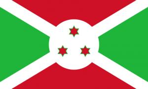 Burundis flagga