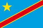 Kongo-Kinshasas flagga