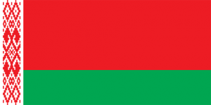 Vitrysslands flagga