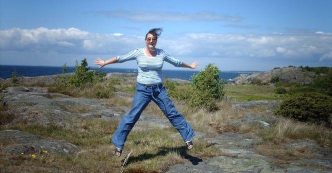 Glad Hanna hoppar