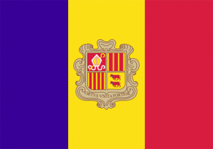 Andorras flagga