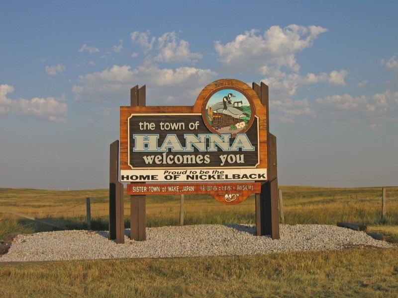 Hanna Alberta Canada