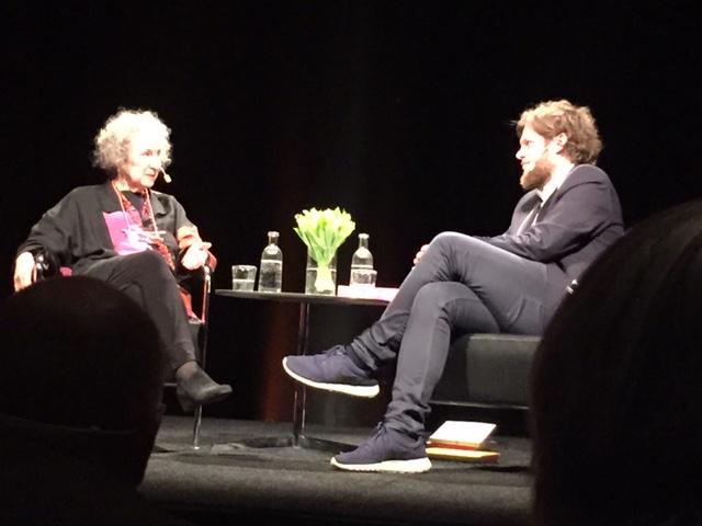Margaret Atwood i samtal med Hans Olav Brenner