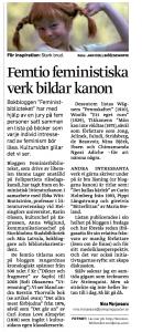 Artikel i Jönköpingsposten 26/3 2013