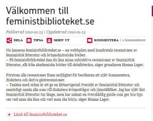 Nyhet rfsu:s webbplats