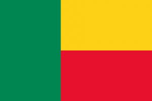 Benins flagga