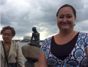 Jag och Den lilla sjöjungfrun