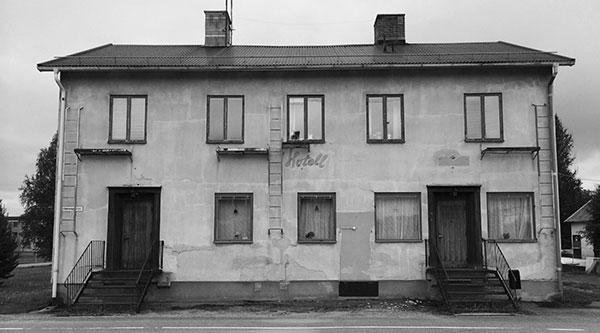 Hotellet i Mellansel