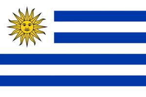 Uruguays flagga