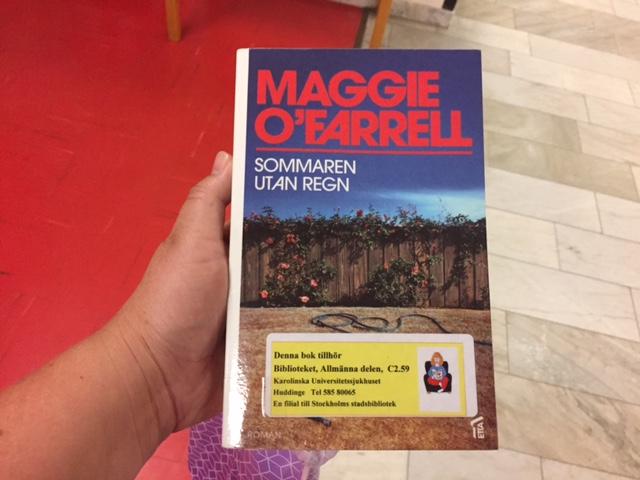 Maggie OFarrells Sommaren utan regn