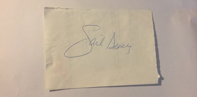 Gail Devers autograf