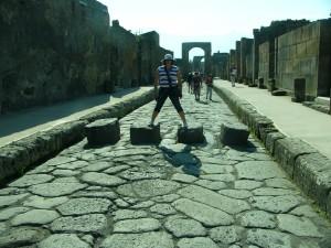 Hanna i Pompeji