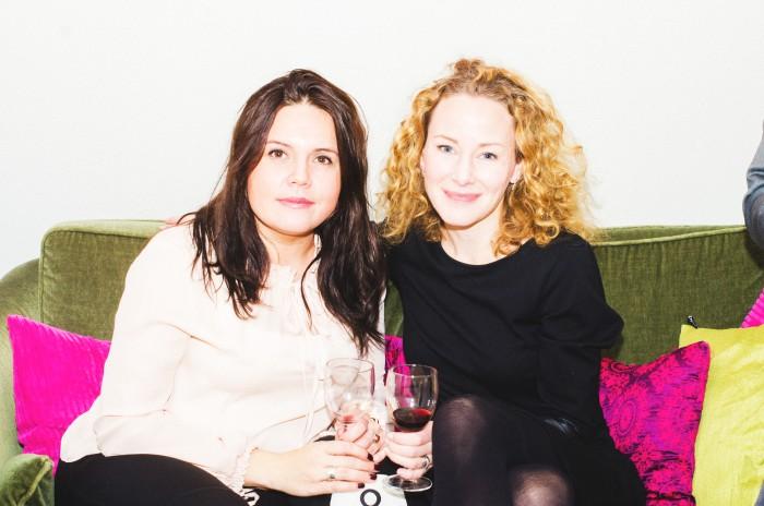 Magie och Sara på Företagarnas höstmingel 2015
