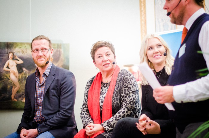 Panelen på Företagarnas höstmingel 2015