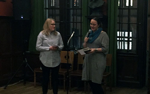Johanna Koljonen läser